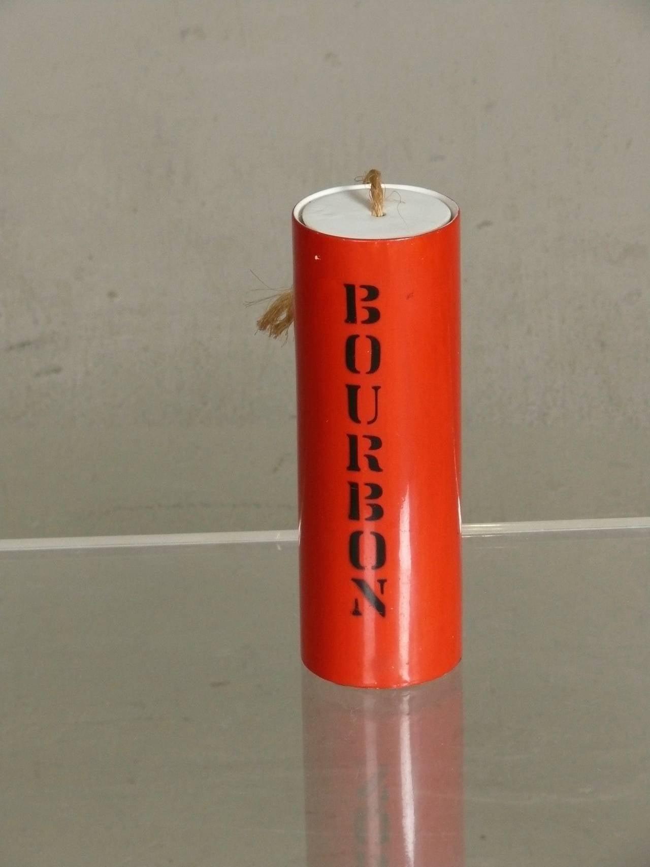 Rare Set 1960s Cold War Ammunition Decanters, Bar Set 6