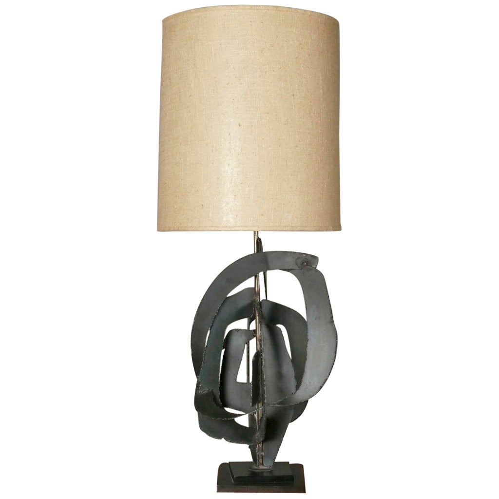 Sculptural Table Lamp by Harry Balmer for Laurel at 1stdibs