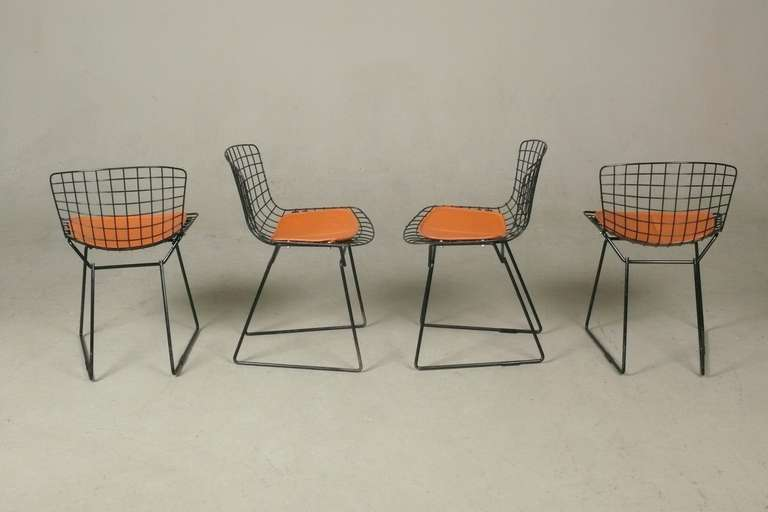 Set Of 4 Child 39 S Side Chairs By Harry Bertoia For Knoll At 1stdibs
