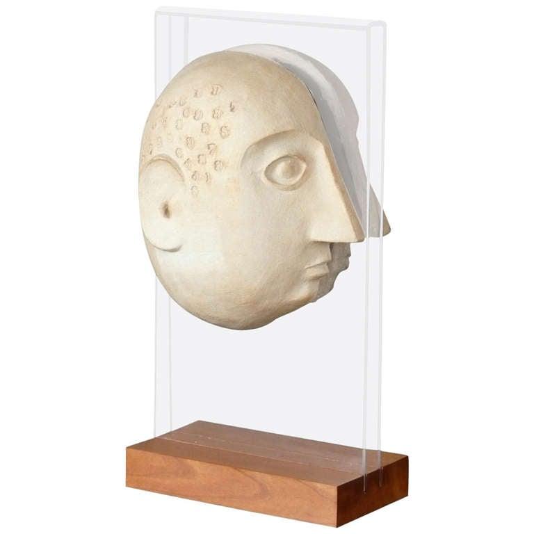 David Gil Sculpture For Bennington Pottery At 1stdibs