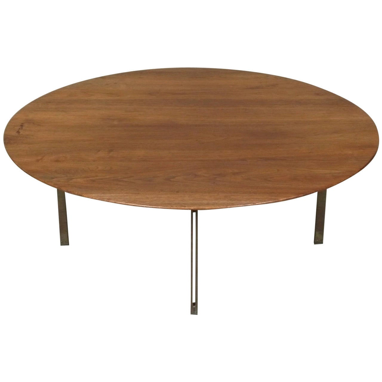 Florence Knoll Parallel Bar Cocktail Table At 1stdibs