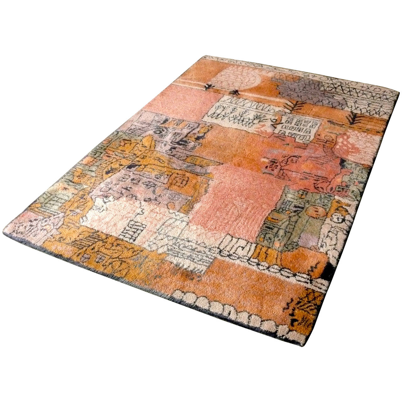 Wool Rug For Paul Klee Collection By Ege At 1stdibs