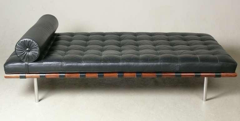 vintage rosewood ludwig mies van der rohe barcelona daybed at 1stdibs. Black Bedroom Furniture Sets. Home Design Ideas