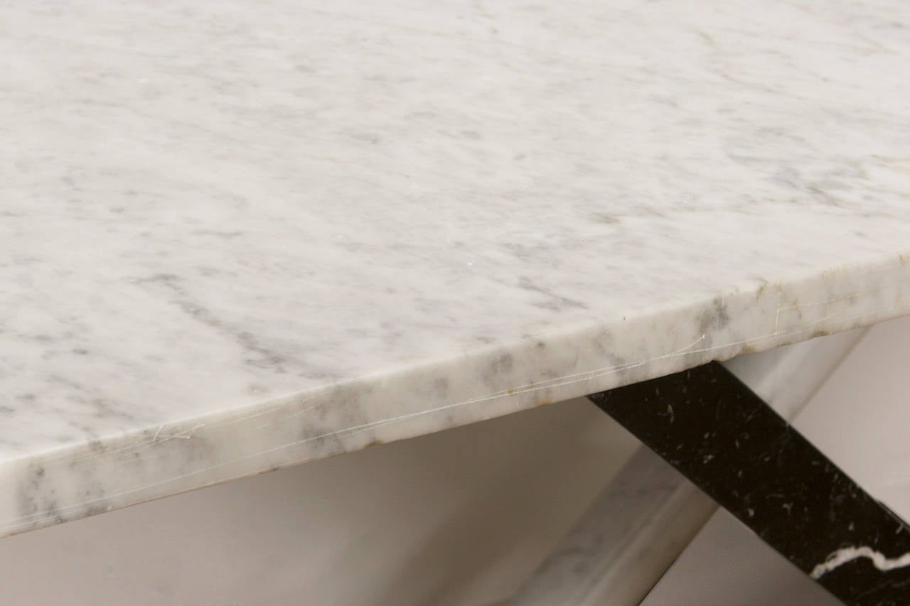 Italian Marble Console Table For Sale 4