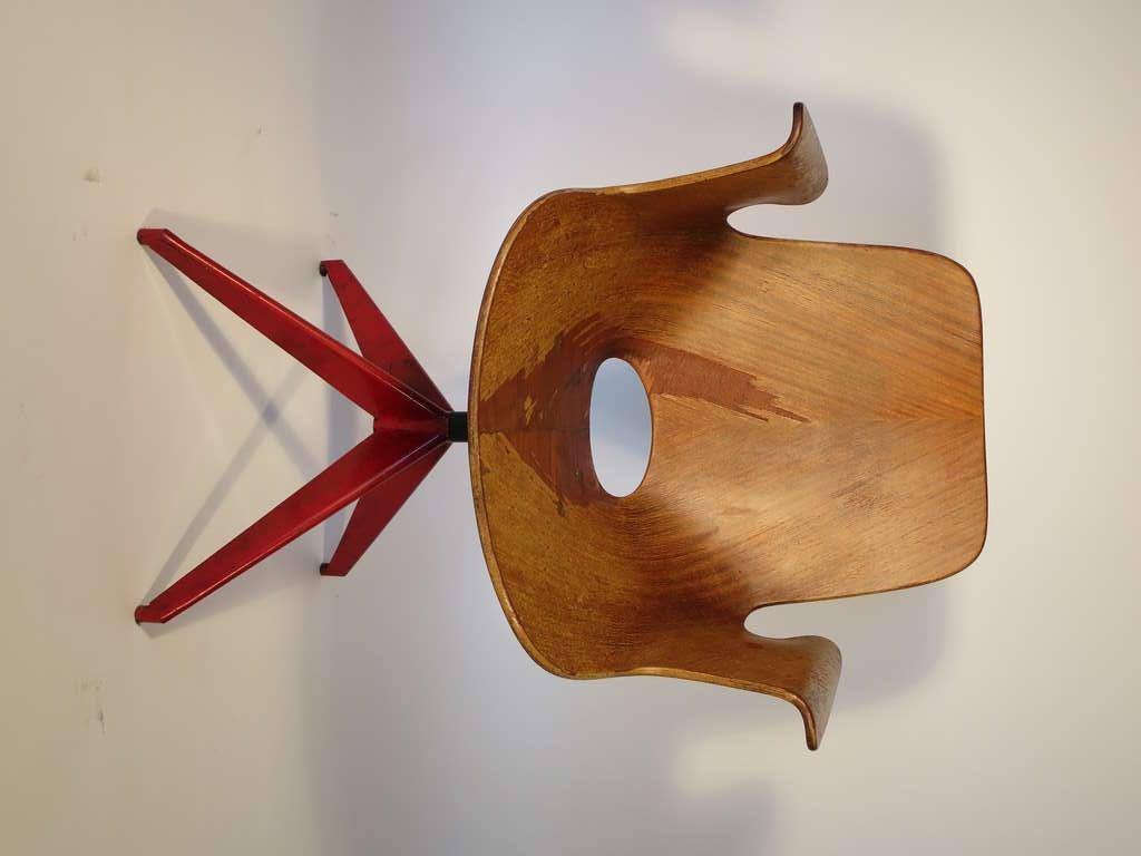Medea Desk Chair by Vittorio Nobili 2
