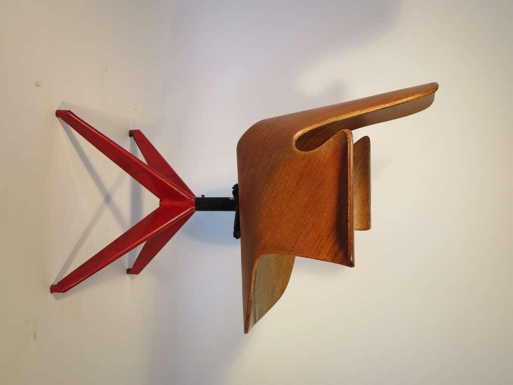Medea Desk Chair by Vittorio Nobili 3