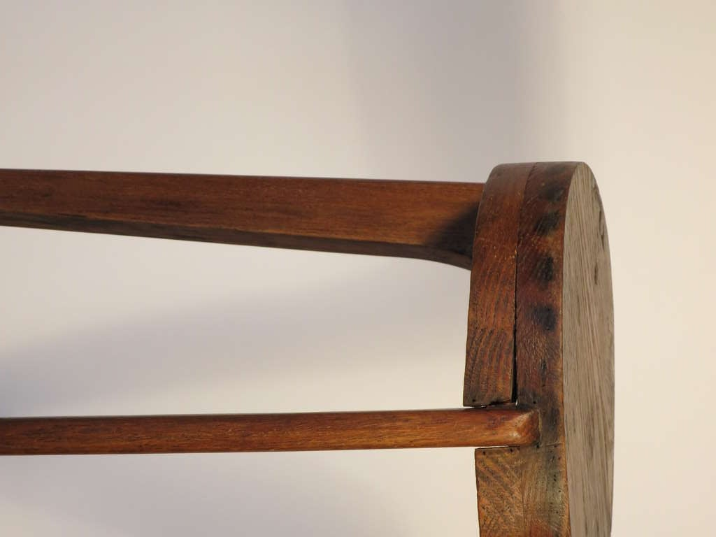 French Bar Stool Attributed to Pierre Jeanneret 2