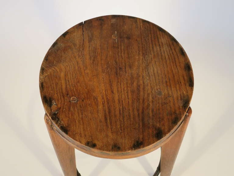 French Bar Stool Attributed to Pierre Jeanneret 4
