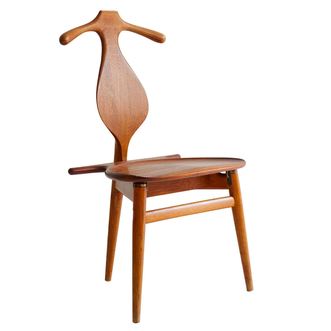Hans wegner valet chair at 1stdibs for Furniture 4 u