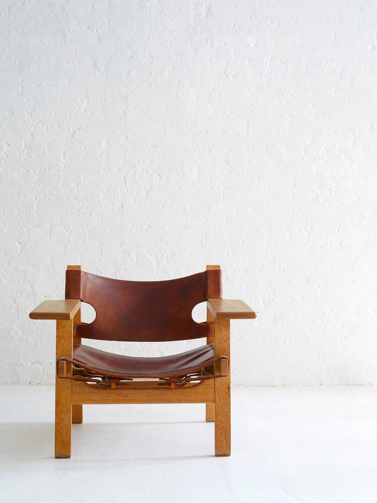 Mid-Century Modern Borge Mogensen Spanish Chair For Sale