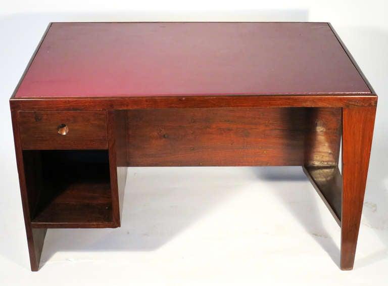 """Office Table"" by Pierre Jeanneret 6"