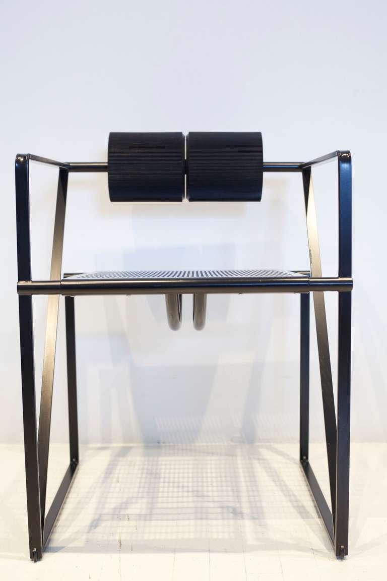 Italian Mario Botta Seconda Chair For Sale