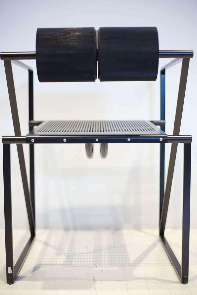 Steel Mario Botta Seconda Chair For Sale