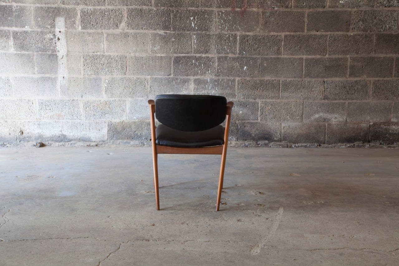 Scandinavian Modern Chair #42 by Kai Kristiansen For Sale