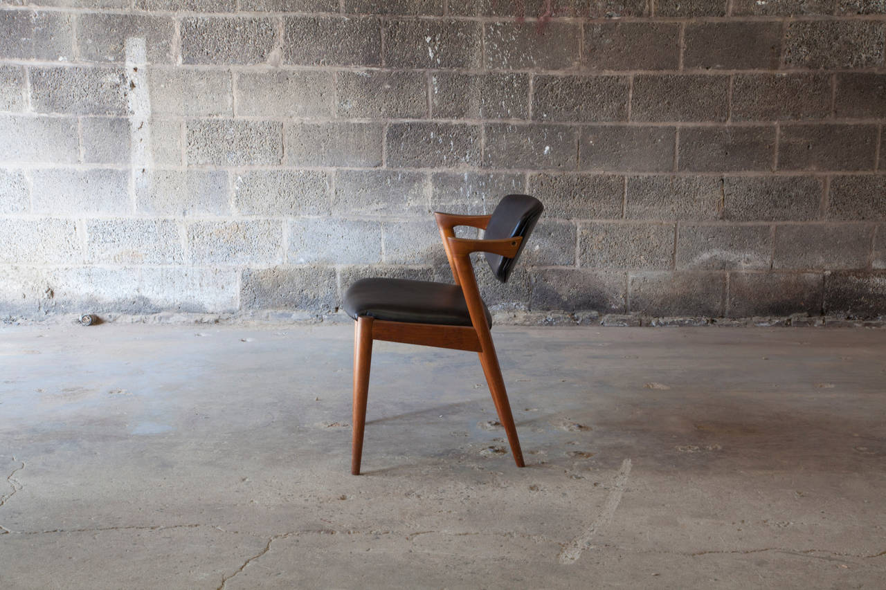 Danish Chair #42 by Kai Kristiansen For Sale