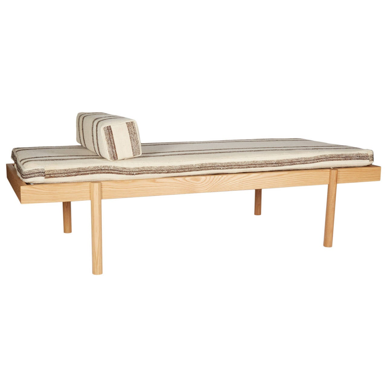 WC2 Daybed by ASH NYC with Limited Woven Accents Kilim Upholstery, One of Five For Sale