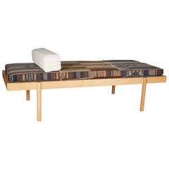 WC2 Daybed by ASH NYC with Limited Woven Accents Kilim Upholstery, Four of Five