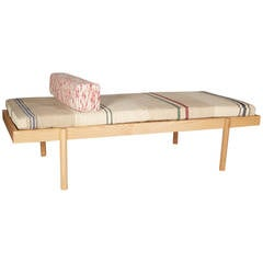 WC2 Daybed by ASH NYC with Limited Woven Accents Kilim Upholstery, Five of Five