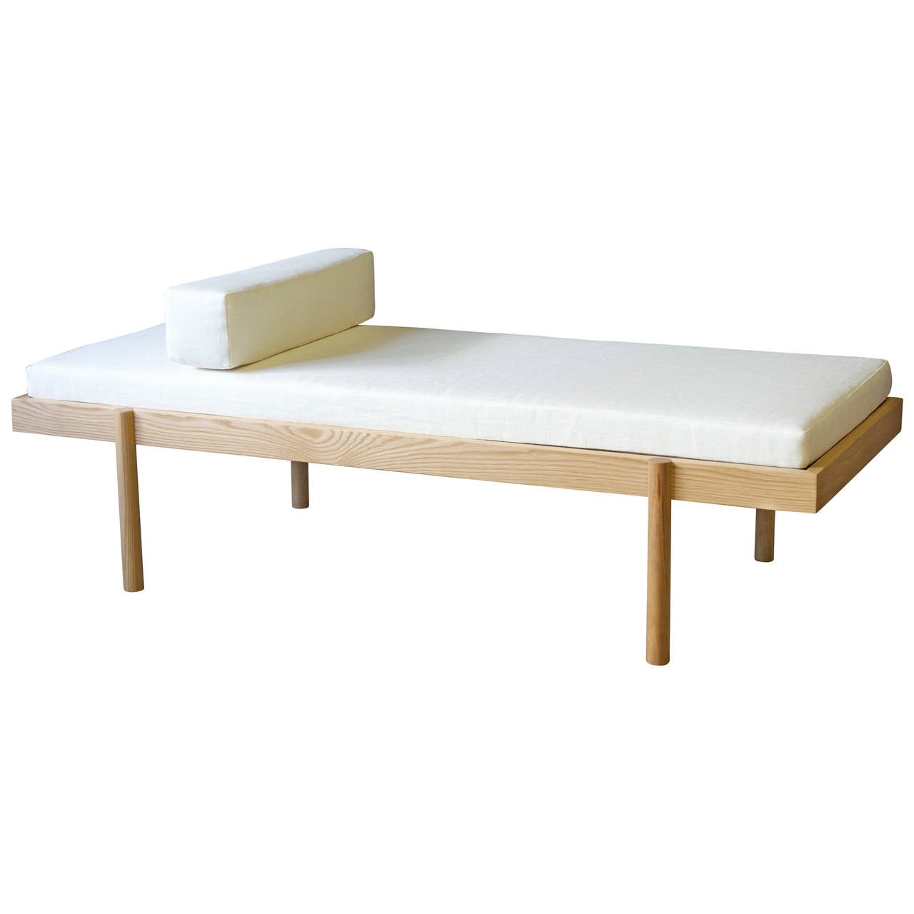 WC2 Daybed by ASH NYC in White Oak 1