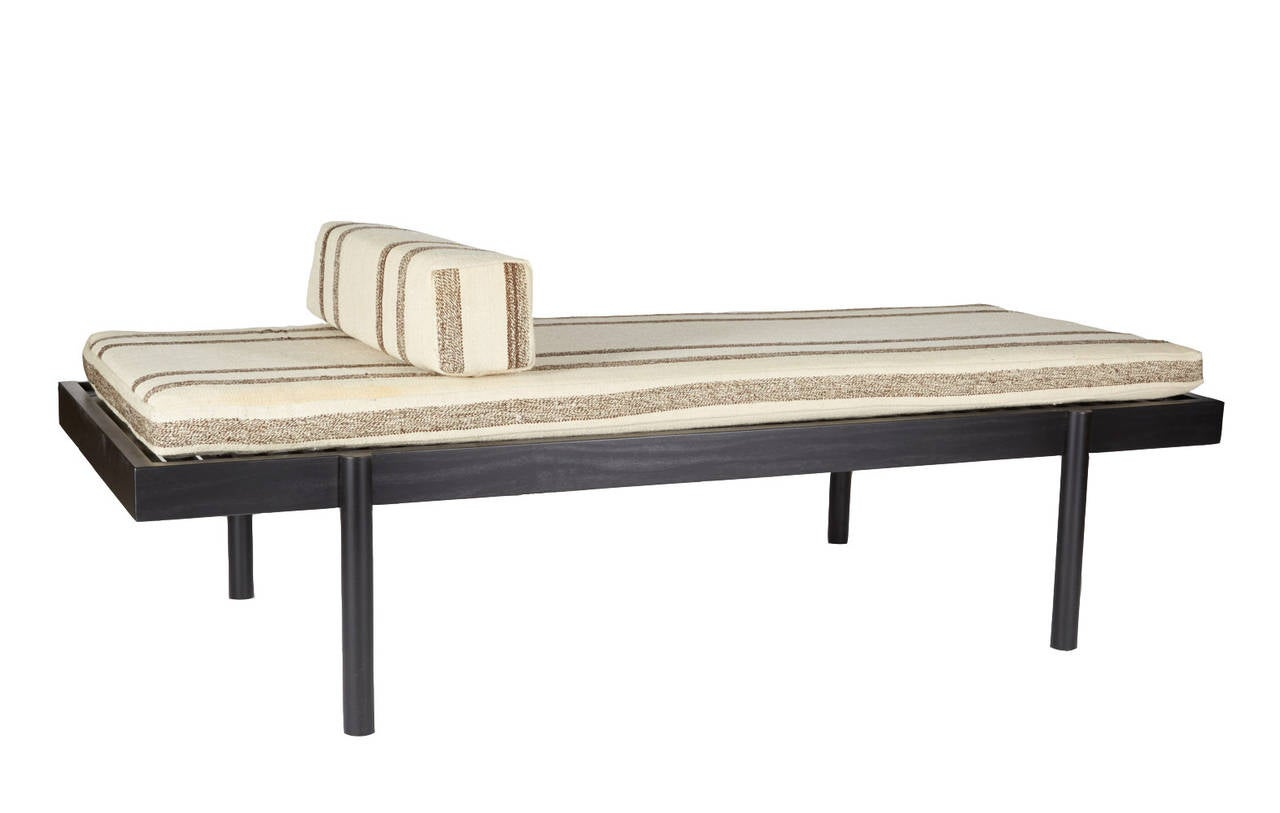 WC2 Daybed by ASH NYC with Limited Woven Accents Kilim Upholstery, One of Five 2