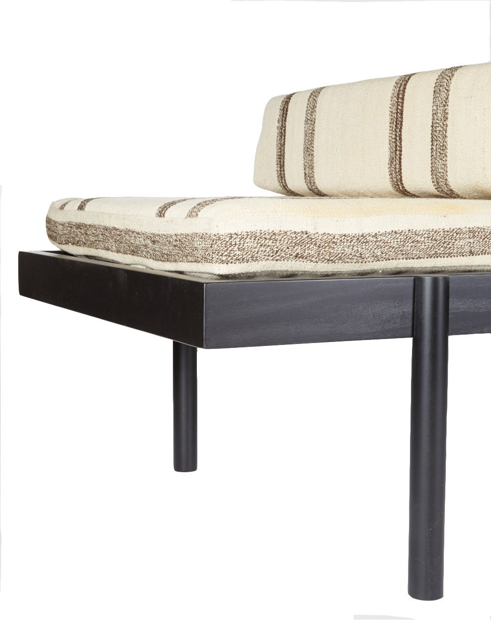 Contemporary WC2 Daybed by ASH NYC with Limited Woven Accents Kilim Upholstery, One of Five For Sale