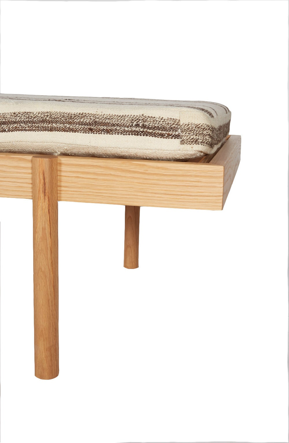 American WC2 Daybed by ASH NYC with Limited Woven Accents Kilim Upholstery, One of Five For Sale