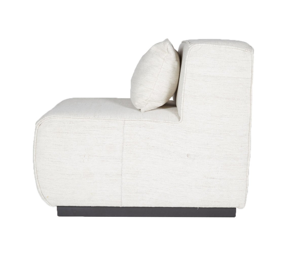 Modular Sofa By ASH NYC With Limited Woven Accents Kilim