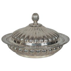 Art Deco Style Sterling Silver Dish