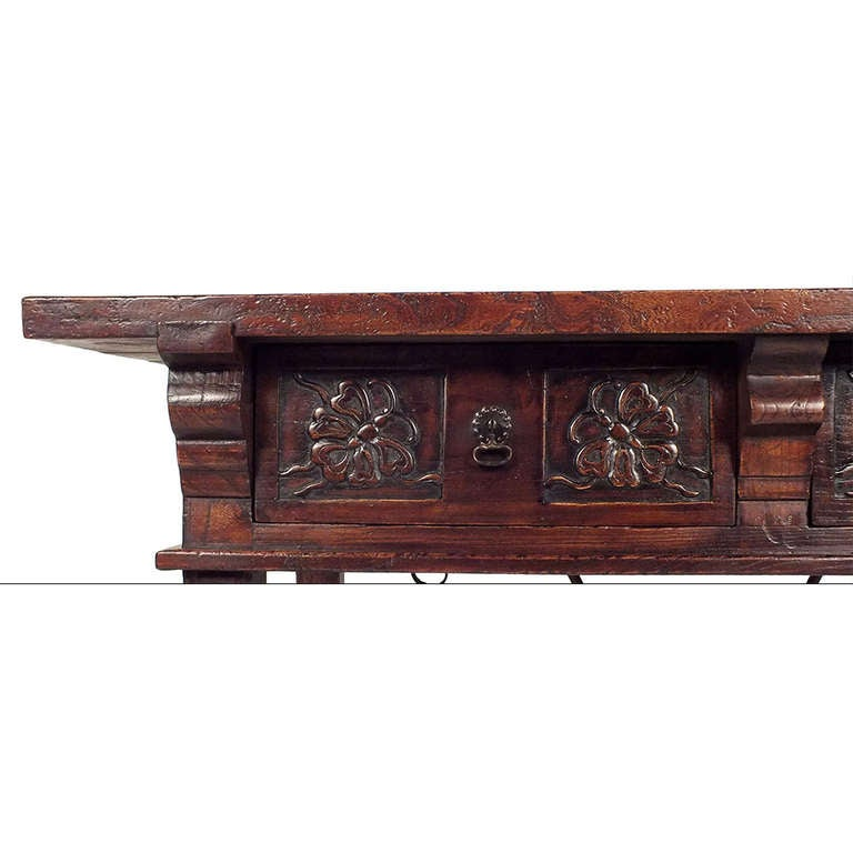 1950 s baroque style writing table at 1stdibs