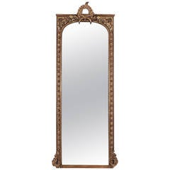Large 19th Century French Louis XVI Style Mirror