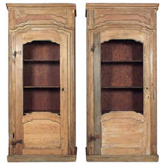 Pair of 1900s French Provincial-Style Bookcases