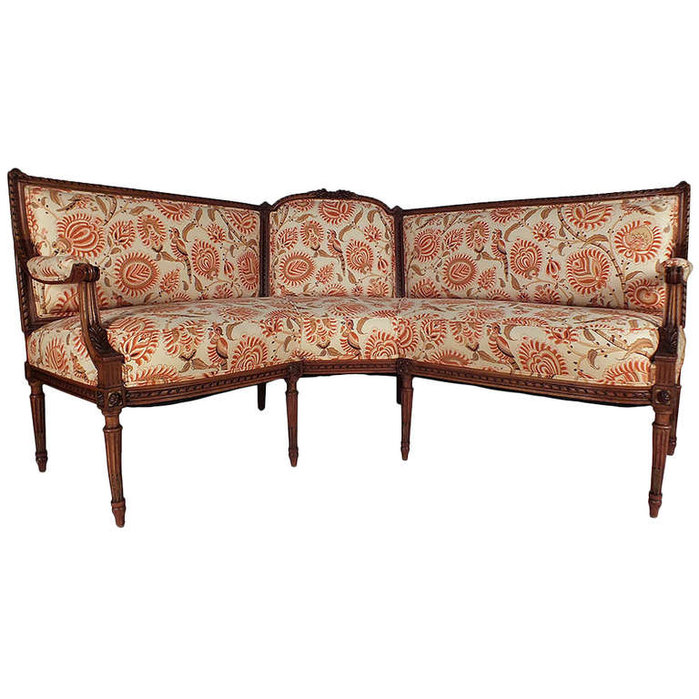 1910s Louis Xvi Style Corner Sectional Sofa At 1stdibs