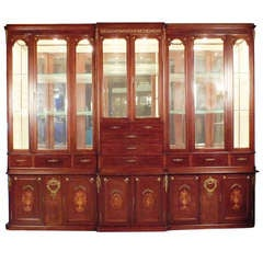Grand French Louis XVI Vitrine or Display Cabinet