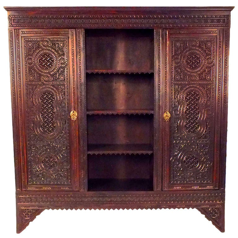 1910 S Moroccan Style Armoire At 1stdibs