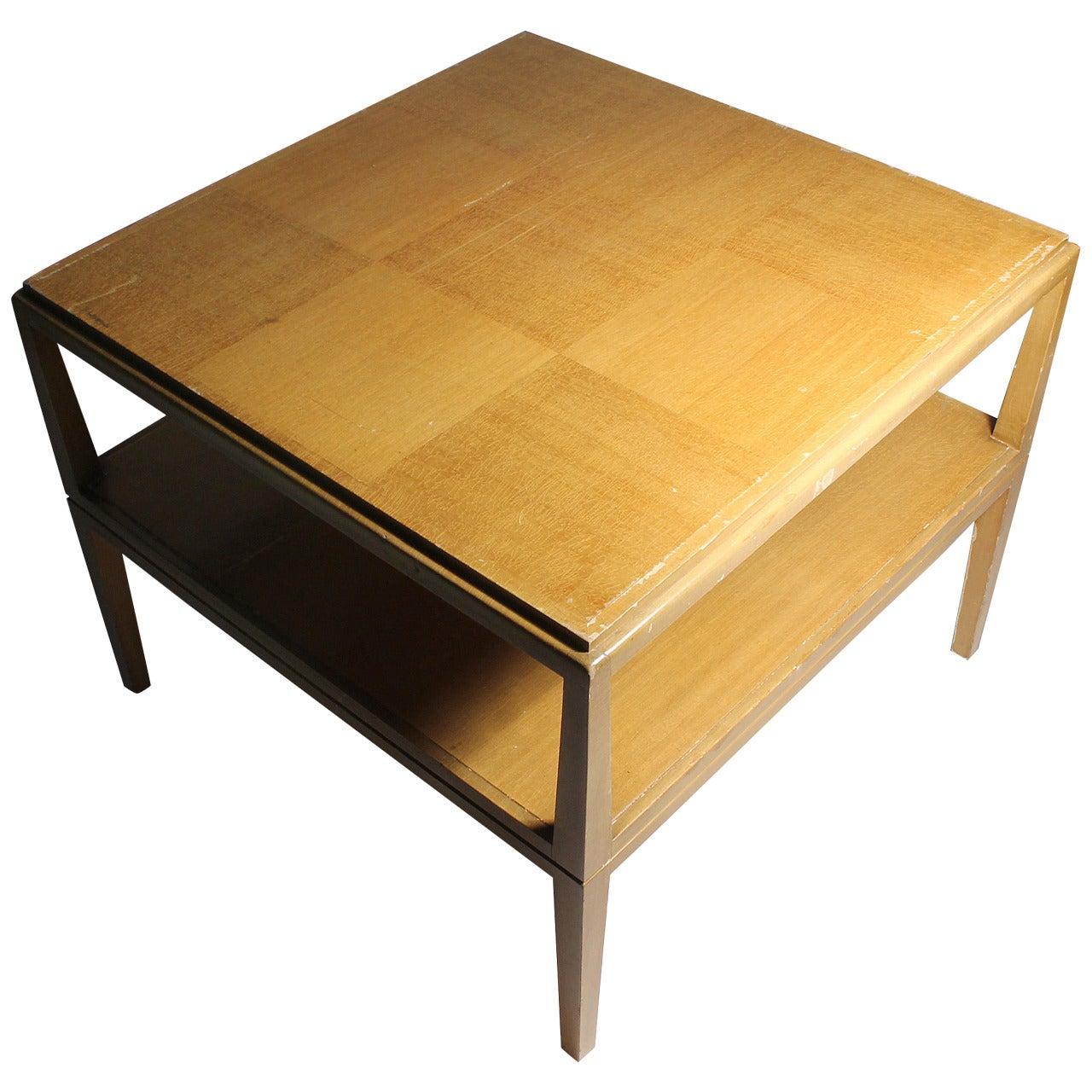 Vintage Tommi Parzinger Patchwork Occasional Table for Charak Modern