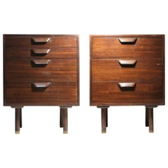 Pair of Harvey Probber Chests or Nightstands in style of Edward Wormley Dunbar