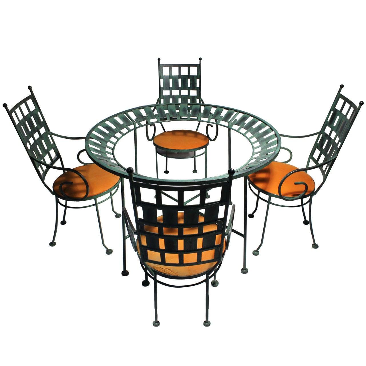 "Arthur Umanoff Dinette Set ""Chairs & Table"""