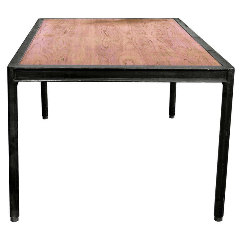 Harvey Probber Dining Table with 3 leaves manner of Edward  : 1106230l from 1stdibs.com size 768 x 768 jpeg 32kB