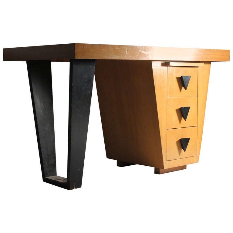 Vintage Modern Desk Attributed to Paul Laszlo