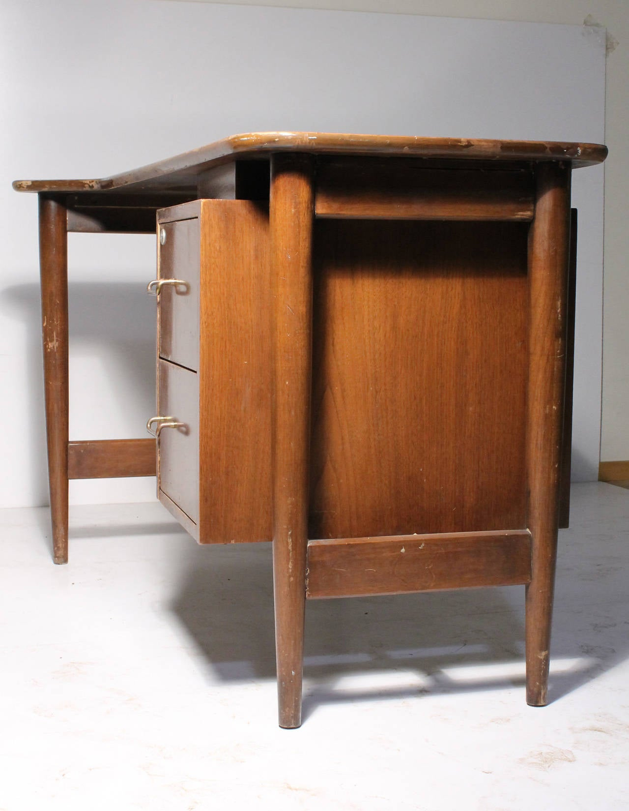 American of Martinsville Desk by Merton Gershun Desk from the