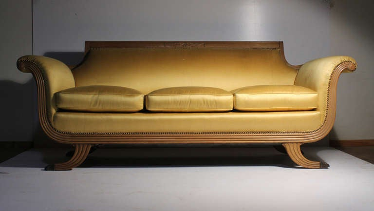 20th Century Duncan Phyfe/Empire/Neoclassical/Victorian Style Sofa 2