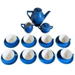 Guido Andlovitz S.C.I.  Societa Ceramica Italiana Demi-Tasse Set