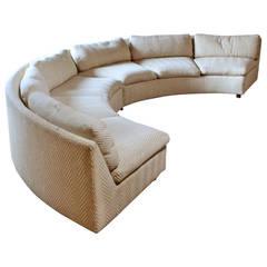 Milo Baughman Curve Sofa Sectional for Thayer Coggin