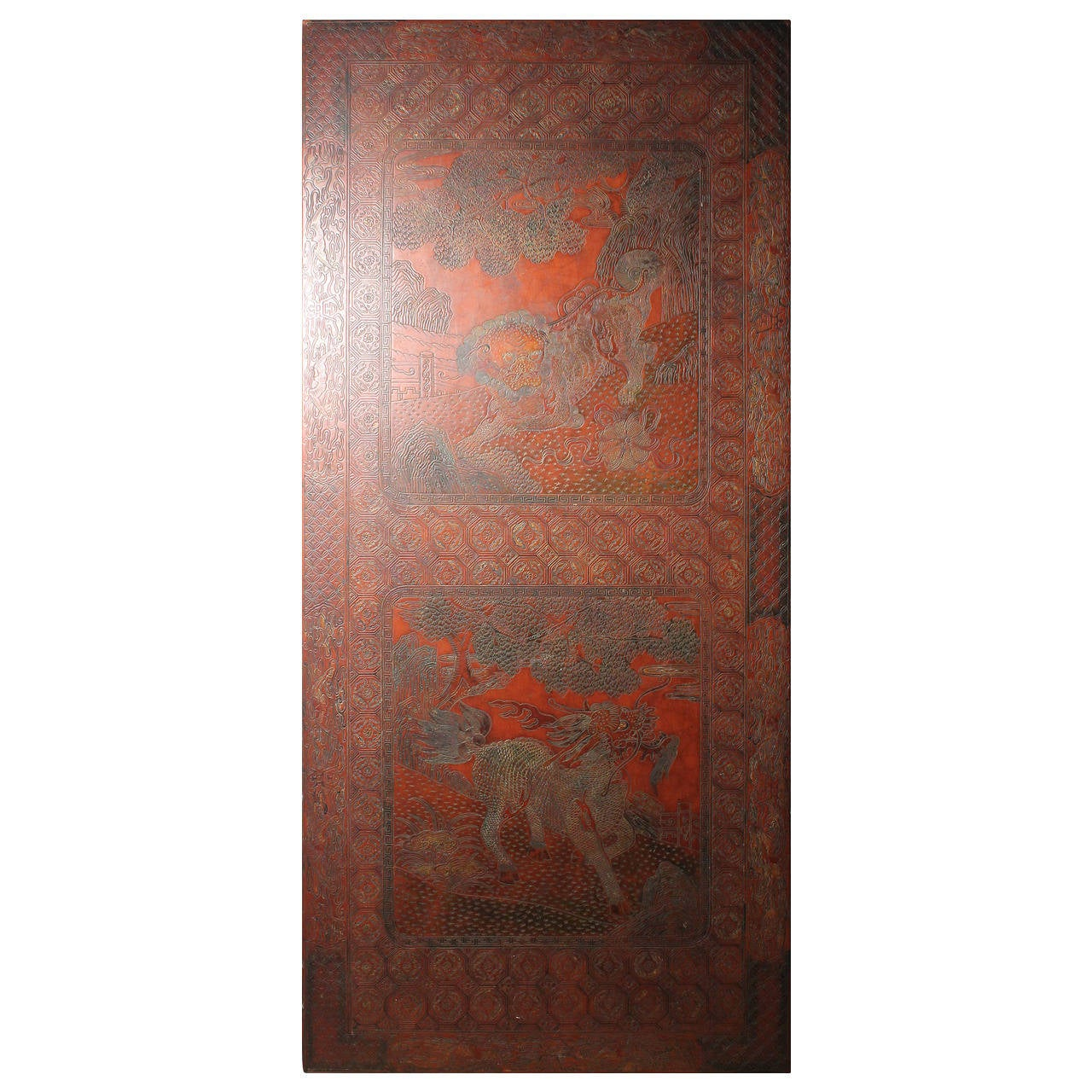 French Coffee Table in Max Kuehne Manner, Asian Chinese Chinoiserie Style