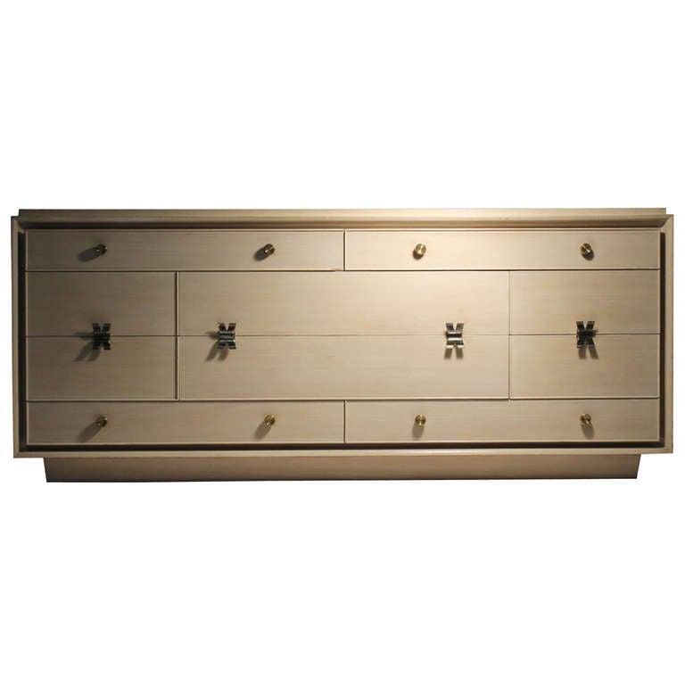 Rare Paul Frankl Designed Sideboard or Dresser for Johnson