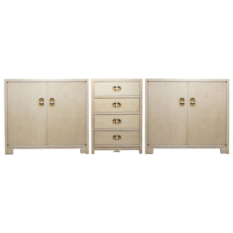 Michael Taylor Cabinets Sideboard For Baker At 1stdibs