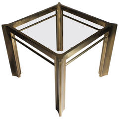 Mastercraft Brass End or Occasional Table