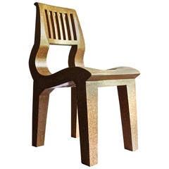 Rare Kevin Walz Knoll KorQinc Chair 1997