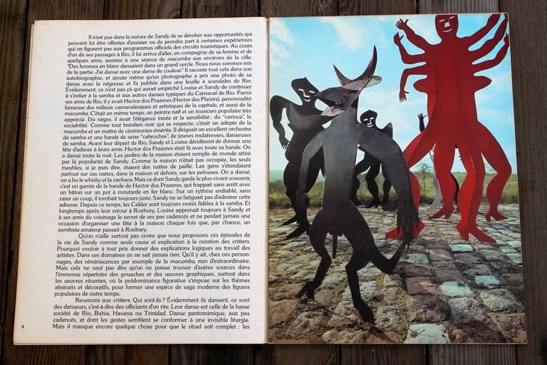 Alexander calder 1975 lithographs derriere le miroir for Maeght derriere le miroir