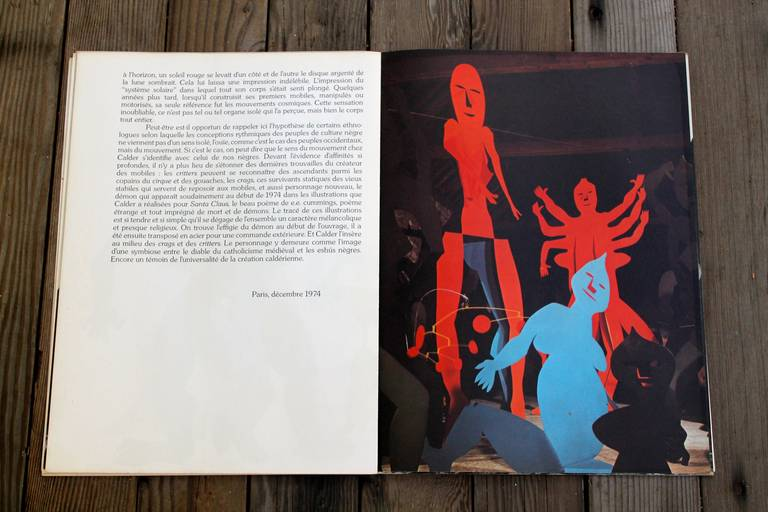 Alexander calder 1975 lithographs derriere le miroir for Derriere le miroir maeght